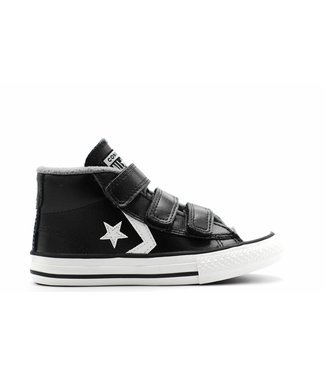 Converse STAR PLAYER 3V - MID - BLACK/MASON/VINTAGE WHITE - JUNIOR
