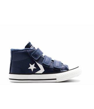 Converse STAR PLAYER 3V - MID - NAVY/MASON BLUE/VINTAGE WHITE - JUNIOR