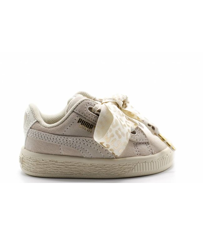 more photos 6ad4f a8d15 Suede Heart AthLuxe Inf / Whisper White-Puma Team Gold