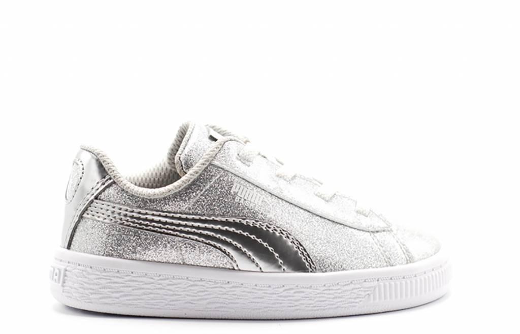reputable site 90258 27244 Basket Metallic AC Inf / Puma Silver-Gray Violet-White