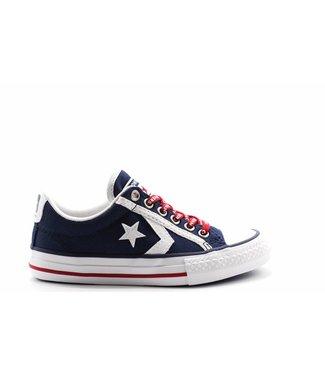 Converse STAR PLAYER EV - OX - NAVY/WHITE/GYM RED