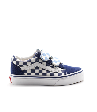 Vans Old Skool V (CHECKERBOARD) True Navy