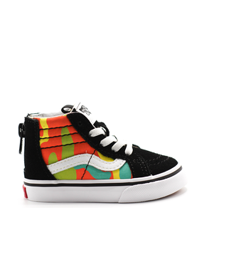 Vans SK8-Hi Zip (POP CAMO) Blazing Yellow