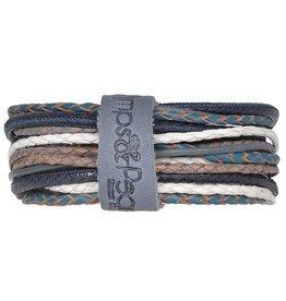Pimps and Pearls Moesss Superior Armband 029 Deep Blue Sea