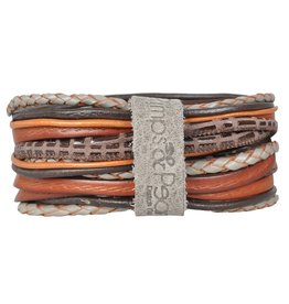 Pimps and Pearls Moesss Superior Armband 043 Brown Autumn