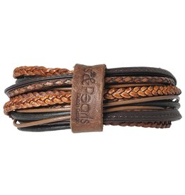 Pimps and Pearls Moesss Superior Armband 5216 Rust