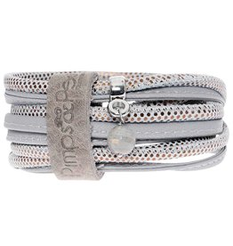 Pimps and Pearls Moesss Suse 36 Metallic Silver