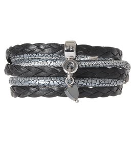 Pimps and Pearls Moesss Mea 36 Silver Hematiet