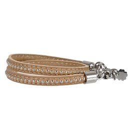 Pimps and Pearls Moesss Trendy Leder 06 Taupe