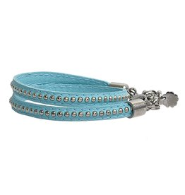 Pimps and Pearls Moesss Trendy Leder 11 Turquoise