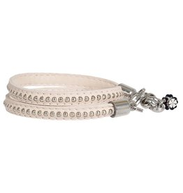 Pimps and Pearls Moesss Trendy Leder 23 Creamy