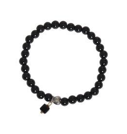 Pimps and Pearls Moesss Rocks Heart 01 Black Obsidiaan