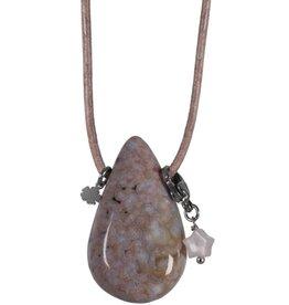 Pimps and Pearls Moesss2Be Goddess Drop 16 Ocean Jaspis Nature