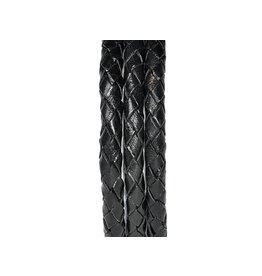 Pimps and Pearls Moesss2 Leder Edelstaal 01 Black