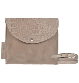 Pimps and Pearls Tasss 10 - Easy Way Croco 01 Sand