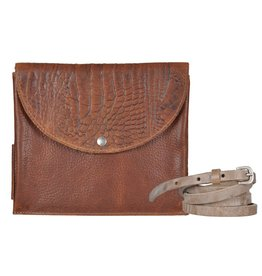 Pimps and Pearls Tasss 10 - Easy Way Croco 02 Mocca
