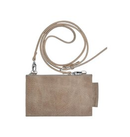 Pimps and Pearls Tasss 14 Travel Pouch 06 Taupe