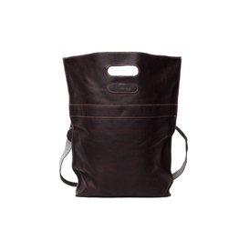 Pimps and Pearls Tasss 3 - XL Bag 302 Dark Brown