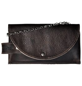 Pimps and Pearls Tasss 8 - Smart/Wallet/Clutch 802 Dark Brown