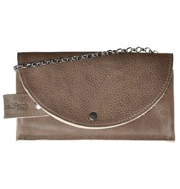 Pimps and Pearls Tasss 8 - Smart/Wallet/Clutch 806 Taupe
