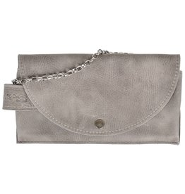 Pimps and Pearls Tasss 8 - Smart/Wallet/Clutch 809 Soft Grey