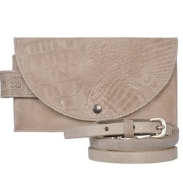 Pimps and Pearls Tasss 8 - Smart/Wallet/Clutch Croco 01 Sand