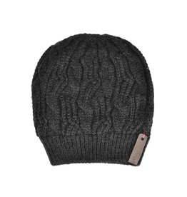 Pimps and Pearls Beanie Caban Muts BC06 Grey