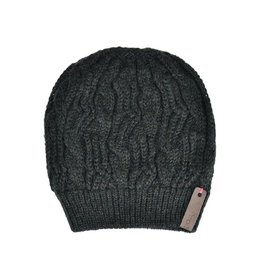 Pimps and Pearls Beanie Caban Muts BC08 Forest Green