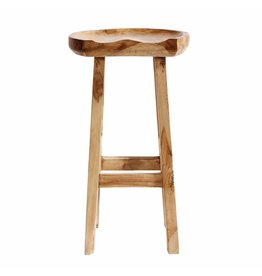 Muubs Barkruk / Bar stool Oval - Teak