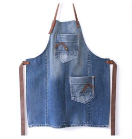 Lowieke Recycled Jeans - keukenschort