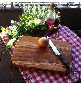 Das Olivenholzbrett Snijplank Olijfhout - Groot en Robuust