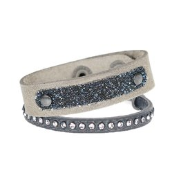 Pimps and Pearls Moesss Swarovski Set 09 Soft Grey