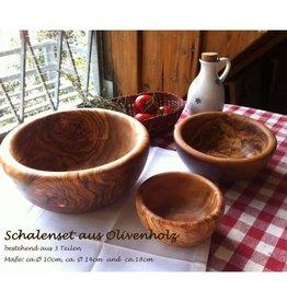 Das Olivenholzbrett Schaal Olijfhout - Bijgerechten