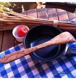 Das Olivenholzbrett Spatel olijfhout 30cm