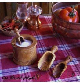 Das Olivenholzbrett Doseerlepel Olijfhout 10cm