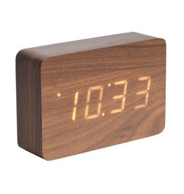 Karlsson Alarm Clock - Square Led Wekker