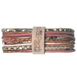 Pimps and Pearls Moesss Superior Armband 97 Rose
