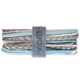 Pimps and Pearls Moesss Superior Armband 105 Summer Sky