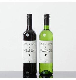 Flessenwerk Flessenwerk jij+mij=wij(n) - wijn