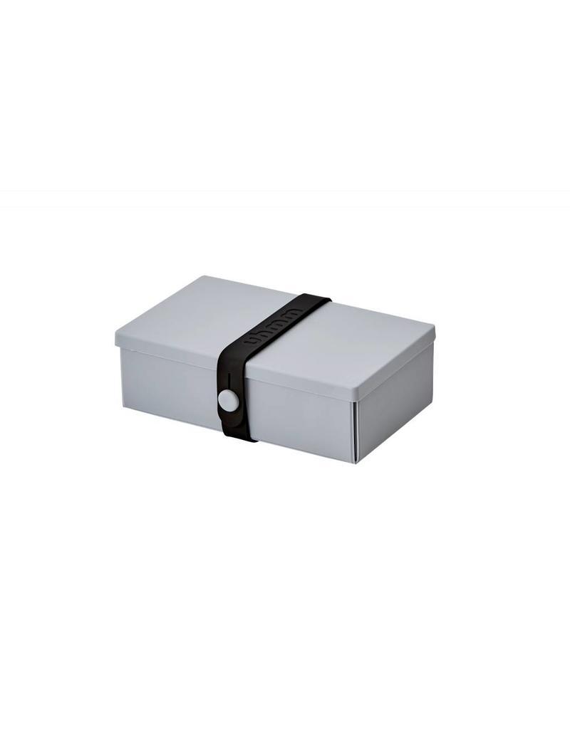 Uhmm Uhmm Lunch box 01 - Rechthoek Lichtgrijs