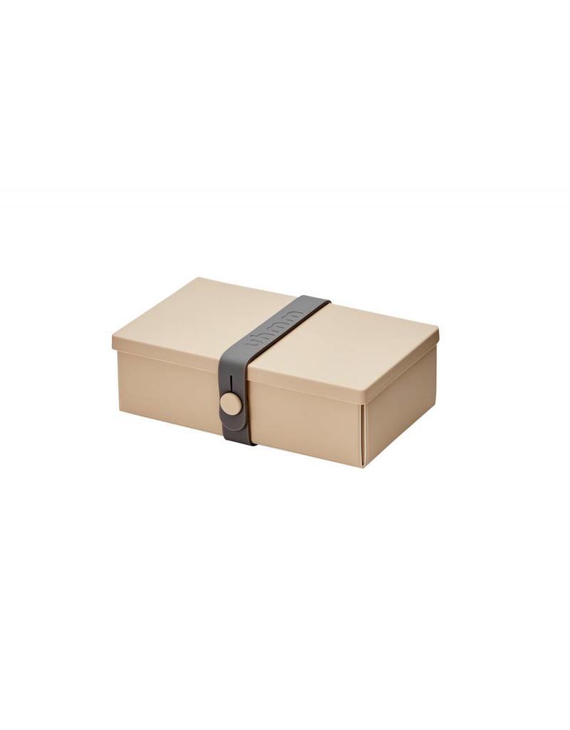 Uhmm Uhmm Lunch box 01 - Rechthoek Mocca