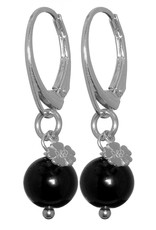 Pimps and Pearls EarRing Rocks 01 Onyx Pretty