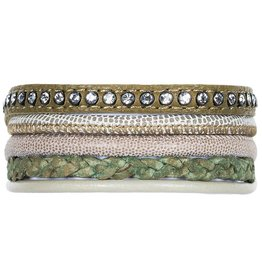 Pimps and Pearls Moesss Five 24 Army Green