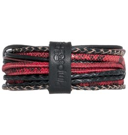 Pimps and Pearls Moesss Superior Armband 124 Winter Red