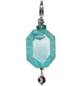 Pimps and Pearls Moesss2Be Premium 1904 Ocean Vibes Amazonite