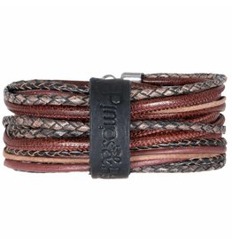 Pimps and Pearls Moesss Superior Armband 128 Intense Dark Red