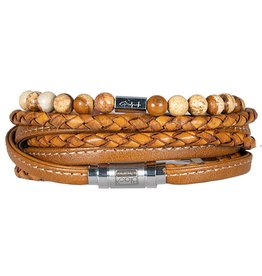 Pimps and Pearls Moesss Hero Duo Men 03 Cognac Landscape Jaspis