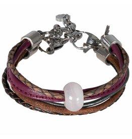 Pimps and Pearls Moesss Five Gems 12 Rose Kwarts Purple Black
