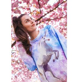 Breaking Rocks Breaking Rocks - INTERGALACTIC UNICORN SWEATER - Women