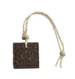 Mijn Stijl Zeephanger Vierkant XL - bruin/cacao - geur Kamille